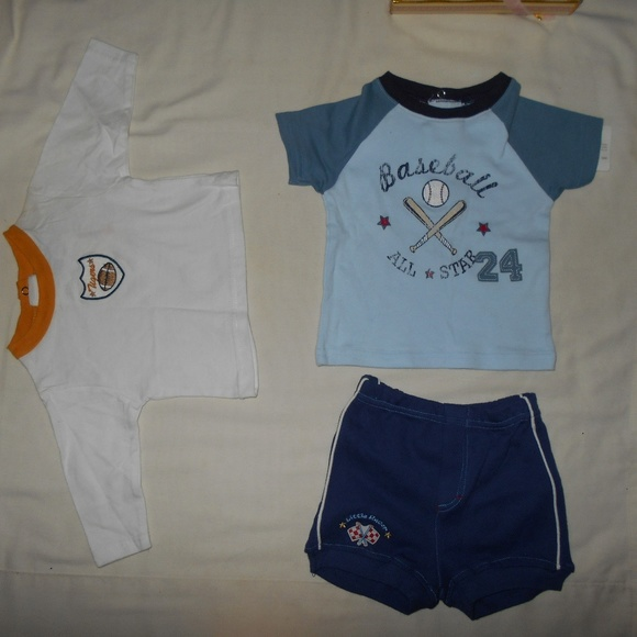 Other - Lot 3 Piece Boys Tops Short